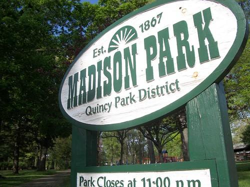 Madison Park Sign
