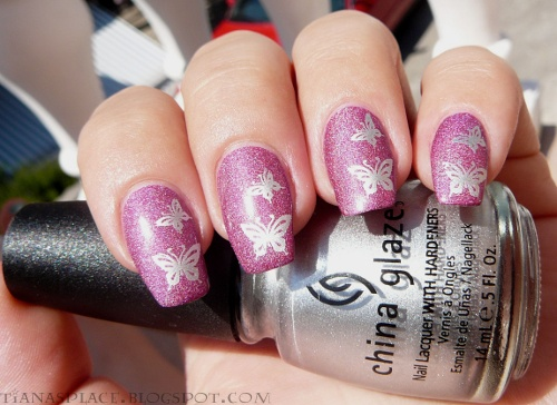 Pink butterflys #3