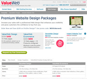 Value Web Hosting Contact Information