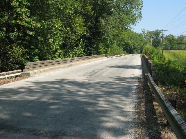 Bridge on Spout Springs Road