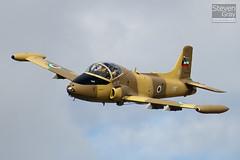G-CFBK - K167-113 - EEP JP 4091 - Private - BAC 167 Strikemaster MK80A - Little Gransden - 100829 - Steven Gray - IMG_4704
