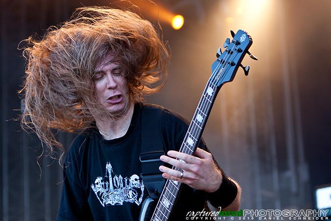 Alex Webster - Cannibal Corpse - Summer Breeze Open Air 2010, Live, Festival, Show