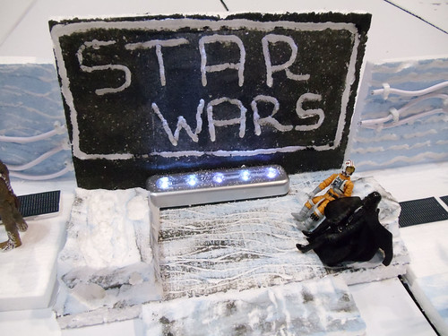 Star Wars Celebration V - Hoth Echo Base Battle diorama - father & son movie night