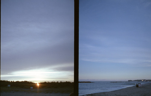 Ohara beach's sunset