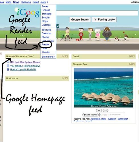 googlereaderhomepage