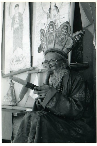 Shaman in Yunnan China
