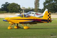 G-EDRV - PFA 181A-13451 - Private - Van's RV-6A - Little Gransden - 100829 - Steven Gray - IMG_5426