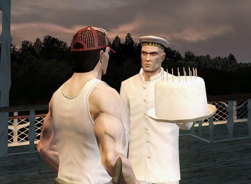 Hitman - honest cake