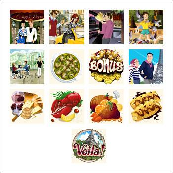 free Voila slot game symbols
