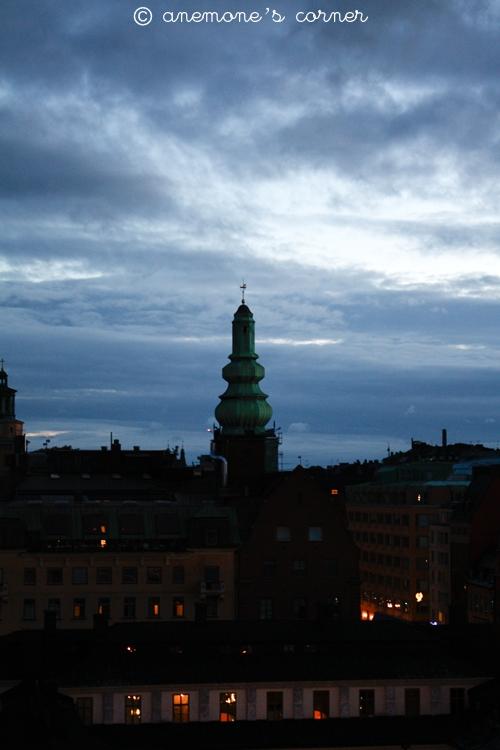 Stoccolma: di sera..