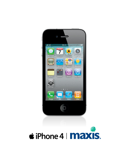 Maxis Launches Iphone 4 With New Plans Tailored For Iphone Customers.