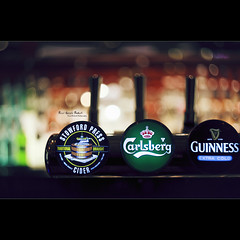 Beer Goggle Bokeh (Dkillock) Tags: david cold beer bar 35mm canon eos pub dof open bokeh mark wide cider guinness full taps ii frame 5d f2 usm fullframe press 58mm extra ef carlsberg mkii helios 442 draught wideopen stowford helios44258mmf2 killock 5dmarkii 5d2 5dmkii dkillock davidkillockphotography