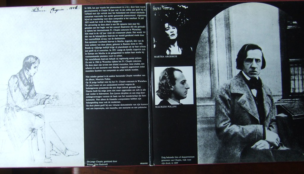 Inside Chopin - Martha Argerich, Maurizio Pollini, Piano, 2 Rivers 008203/4