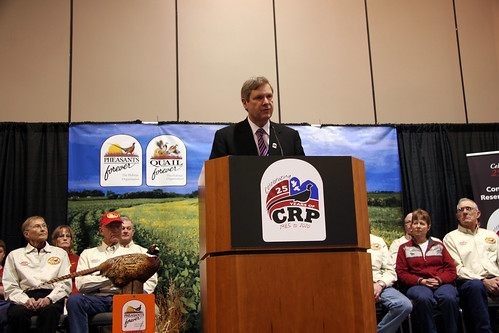 Secretary Vilsack announced there will be a CRP sign-up beginning March 14, with a goal of enrolling 4 million acres.