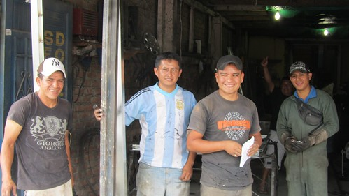Welders in Mocoa