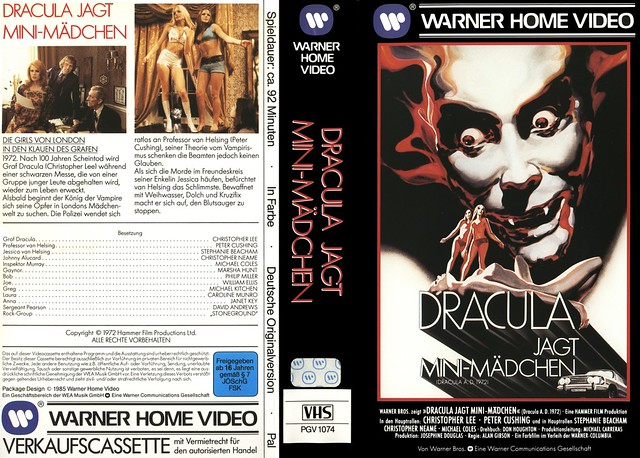 Dracula (VHS Box Art)