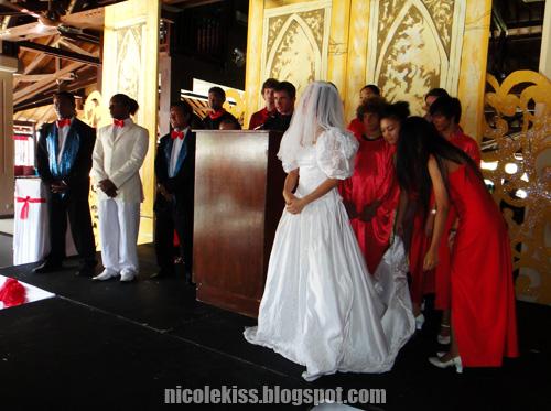 settling bride
