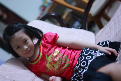 niece at play