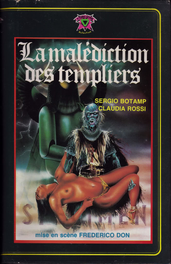 Malediction Templers (VHS Box Art)