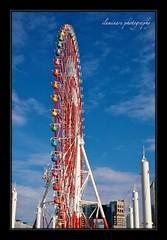 Rainbow in the Sky (Iluminare is home!) Tags: blue sky love wheel japan tokyo rainbow ferris valentine romantic odaiba borderfx