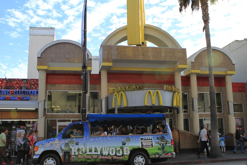 mcdonalds on hollywood