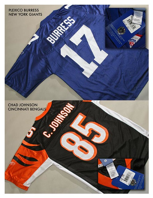 NFL jerseys made in Honduras, selling for $75 in the U.S.