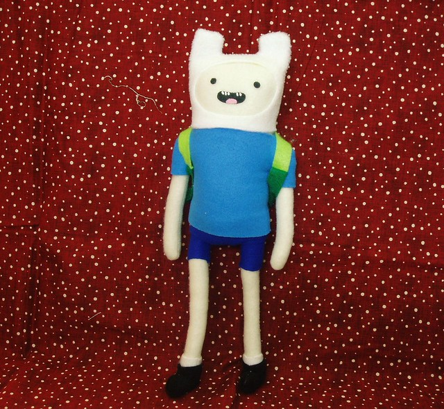 Finn Plush Doll