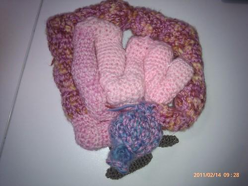 Crocheted guts