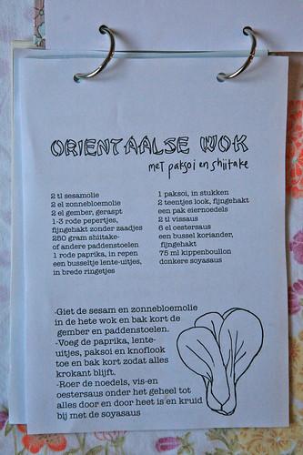 Oriëntaalse wok