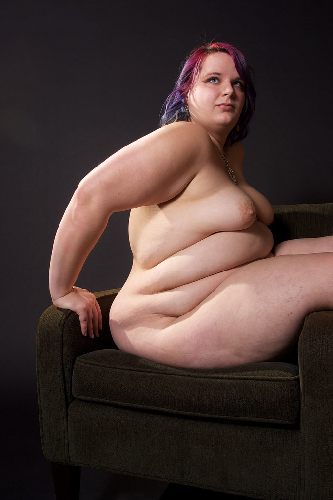 Angry naked fat woman, black fuck b