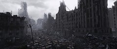 """Postcards from dead city"" # 4 (Pheabus2K9) Tags: metroredux metrolastlight moscow ruin postapocalypse city monochrome reshade"