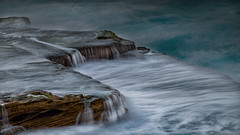 Maroubra Flow (RoosterMan64) Tags: australia longexposure mahonpool maroubra nsw rockshelf sunrise water waterflow