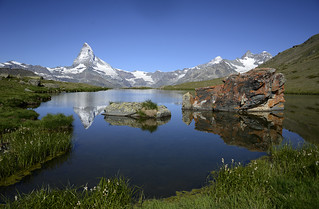 Matterhorn / Stellisee / Switzerland