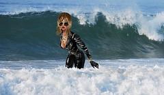 Soakin Wet Leather (SoakinJo) Tags: soakinjo soakin jo wet wetlook wetclothes wetclothing imvu wetjeans clothedinthesea