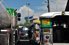 How's My Driving? (mgsarmenta) Tags: photography nikon driving traffic jeep manila rushhour jeepney 2470 d90