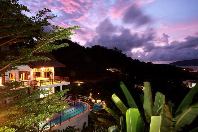 Thailand Holidays 2010 at Patong Hill Phuket Luxury Villas