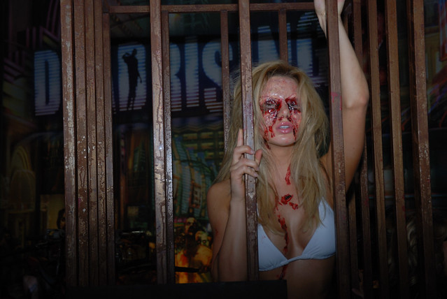 Dead Rising Zombie Chick