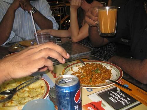 Pos club foodage