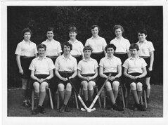 High School Hockey Team 1955