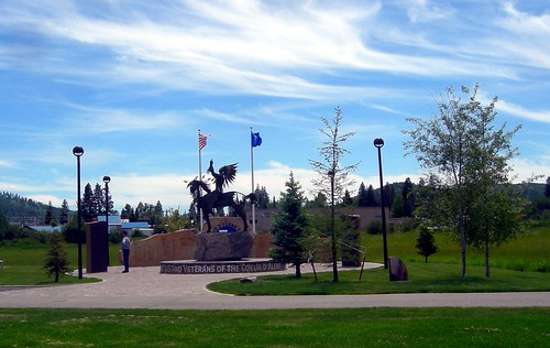 Veteran's Memorial, Coeur d'Alene Reservation, Idaho