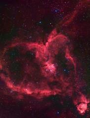 IC1805 HaRGB - Portrait (kappacygni) Tags: canon eos heart nebula phd celestron emission cassiopeia ed80 baader 450d ic1805 eq6 qhy5 astro:gmt=20100219t2340 astro:subject=ic1805