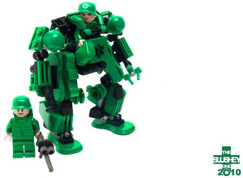 Pylon Suit (battlefield medic)