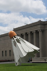 Shuttlecock (SteveThompson) Tags: city museum photography steve nelson kansas atkins thompson shuttlecock