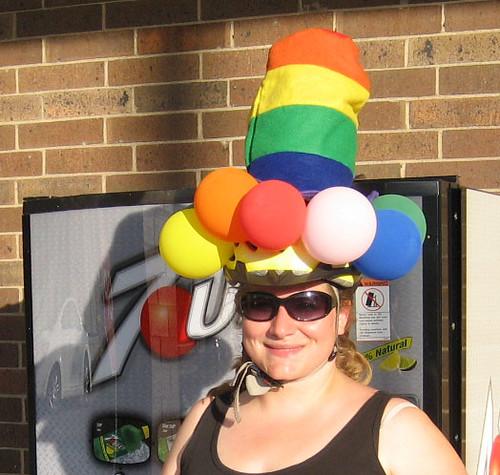 Pride Helmet