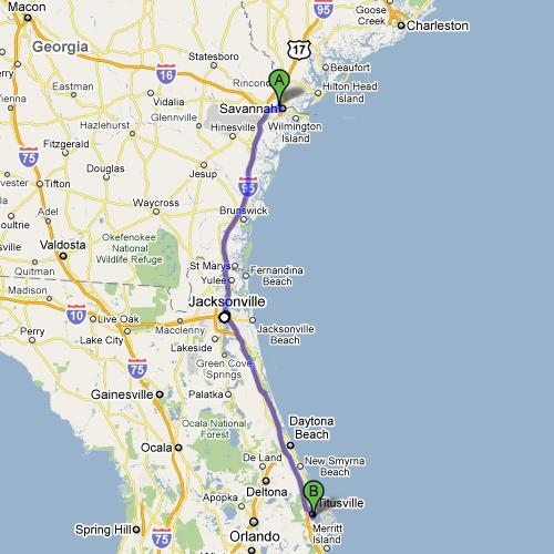 Day 08 Stop 1 - Titusville, FL