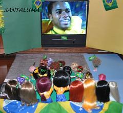Golllllllllll  Robinho!!!!! Brasil 3 x Chile 0