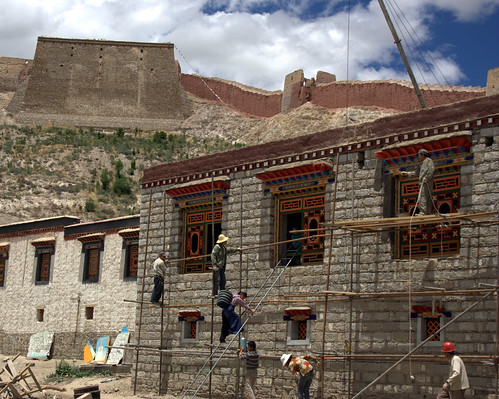 """Cultural Preservation"" at Palcho Monastery"