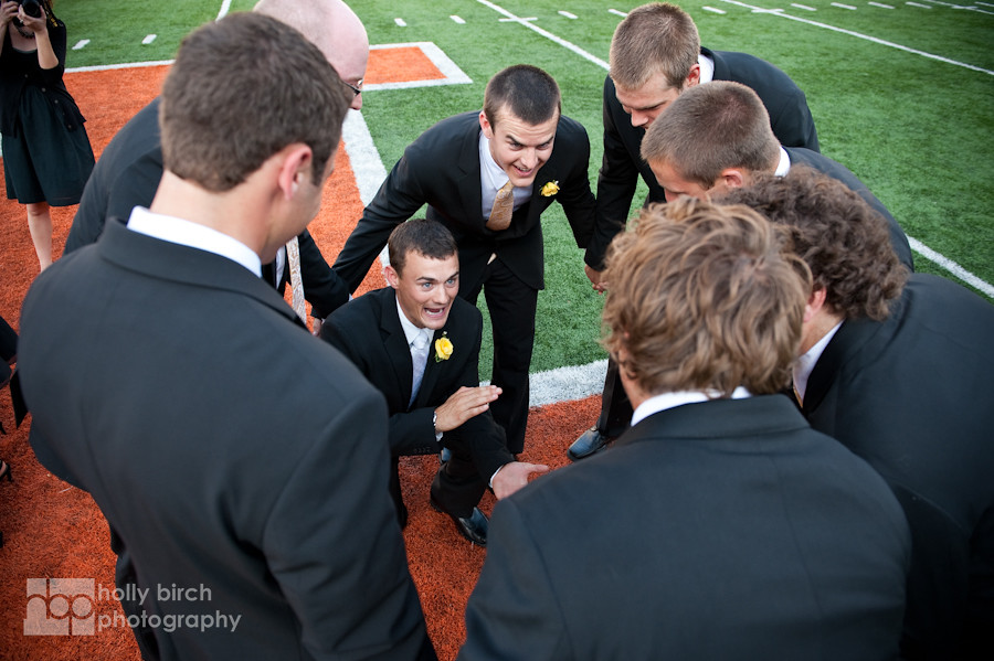 Lauren + Grant | Memorial Stadium wedding photography