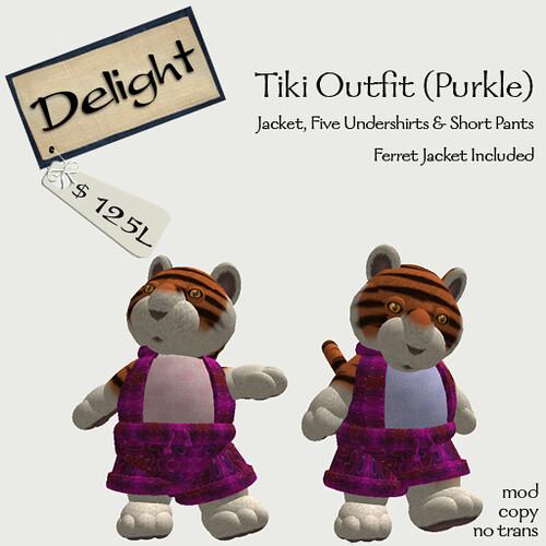 Purkle Tiki Outfit