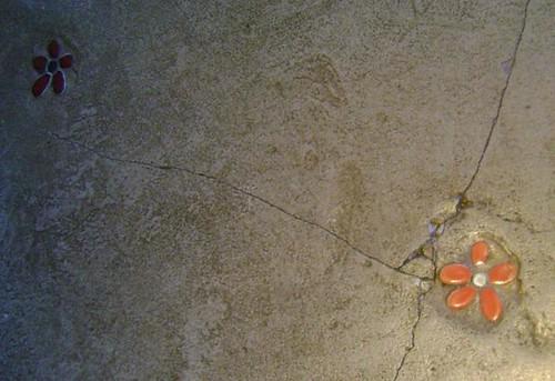 Detalhe no piso